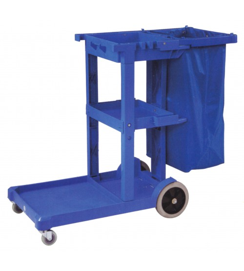 TC00174 清潔服務車連尼龍垃圾袋