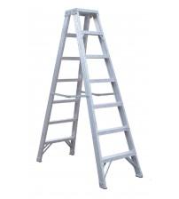 6級至10級安全鋁合金雙面A字梯
