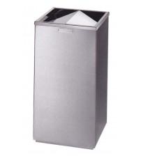 AE-450B 不銹鋼方形搖蓋式垃圾箱