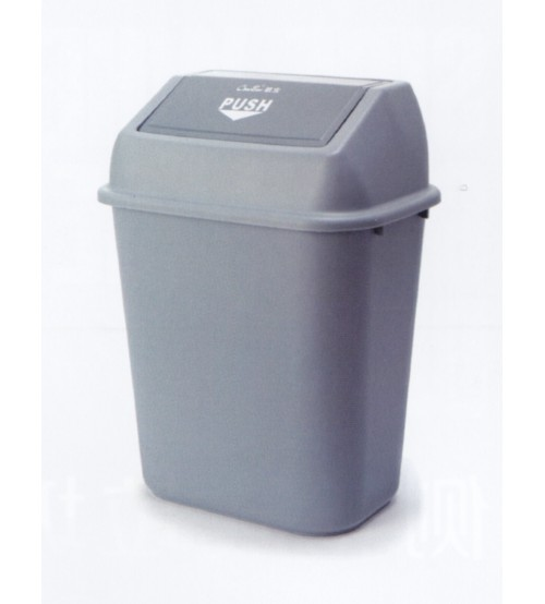 AL-23 23公升公升推門式方形垃圾箱