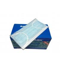 三層優質成人醫用掛耳口罩(藍色) - 獨立包裝