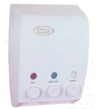 全白三頭皂液機 3 x 400mL