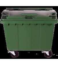 660 公升大型市政垃圾收集箱