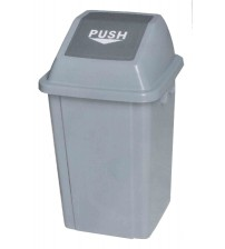 AL-100 100公升推門式方形垃圾箱