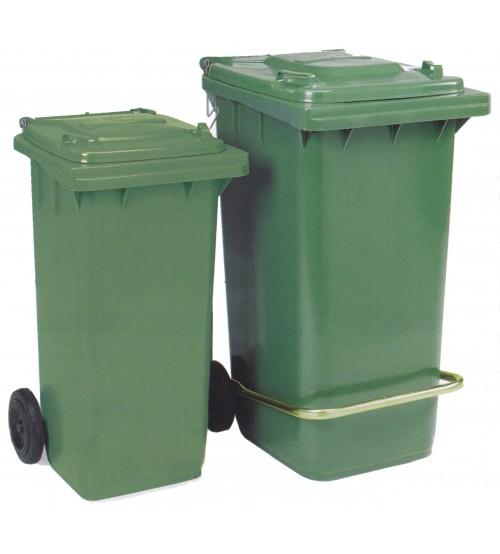 120 公升垃圾收集箱連轆